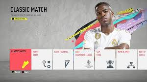 fifa 2020 classic match